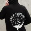 Stop Finning Zipper